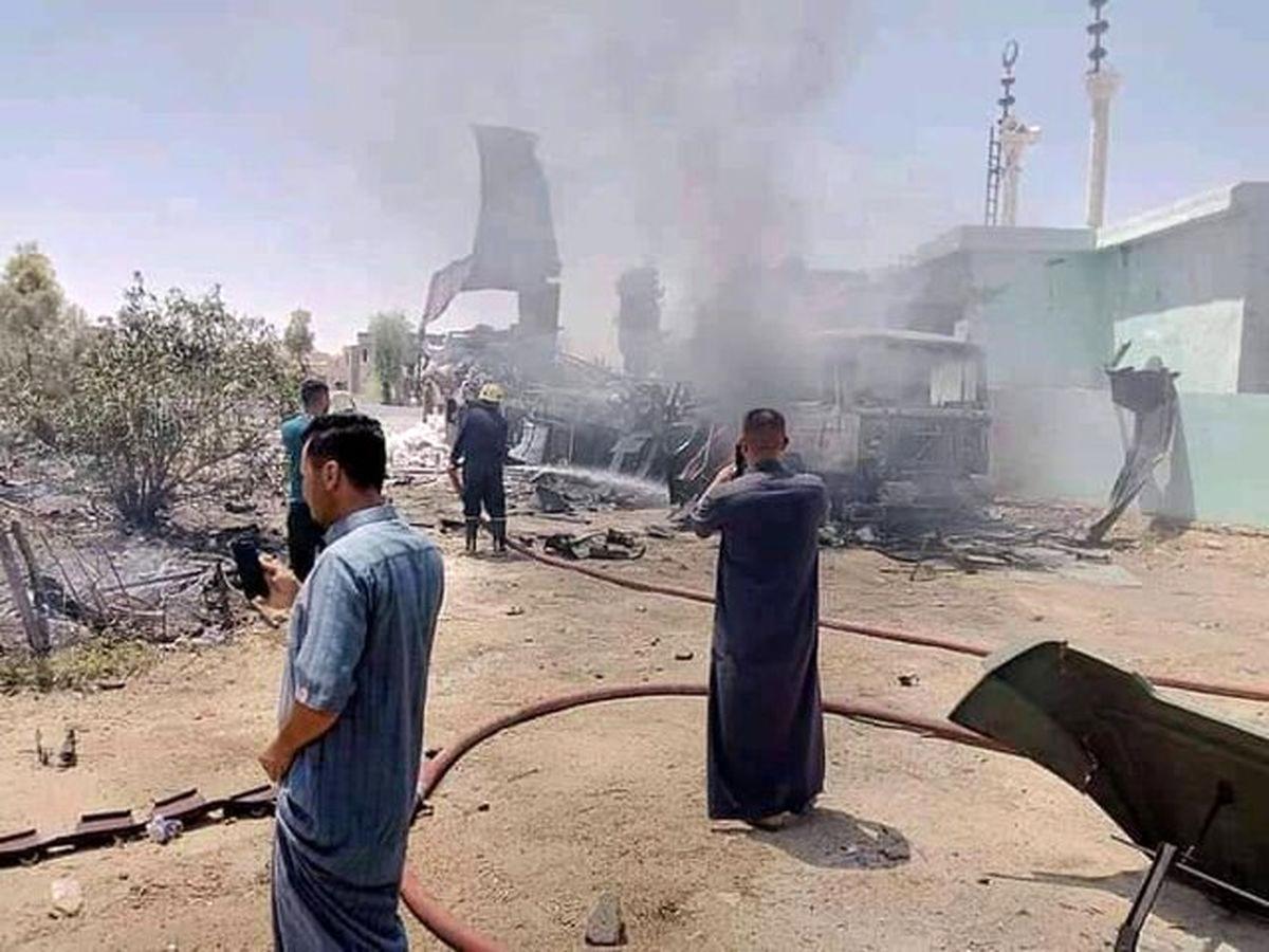 """""""لواء ثأر المهندس"""" مسؤولیت حمله را بر عهده گرفت/۳۰ موشک استفاه کردیم"""