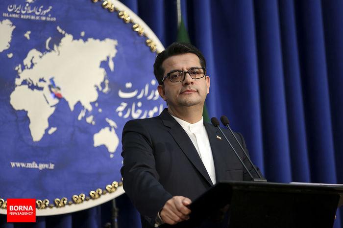 ایران، اقدام اخیر کنگره آمریکا در قبال چین را محکوم کرد