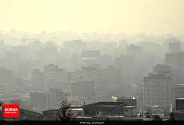 هوای  ناسالم پایتخت برای گروههای حساس