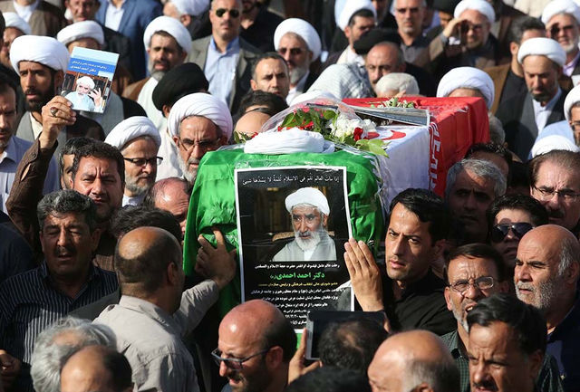 مراسم بزرگداشت مرحوم حجتالاسلام دکتر احمدی در قم برگزار شد