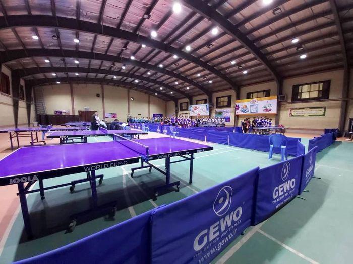 """البرز"""" اولین ها"""" را برای تنیس روی میز کشور رقم زده است"""