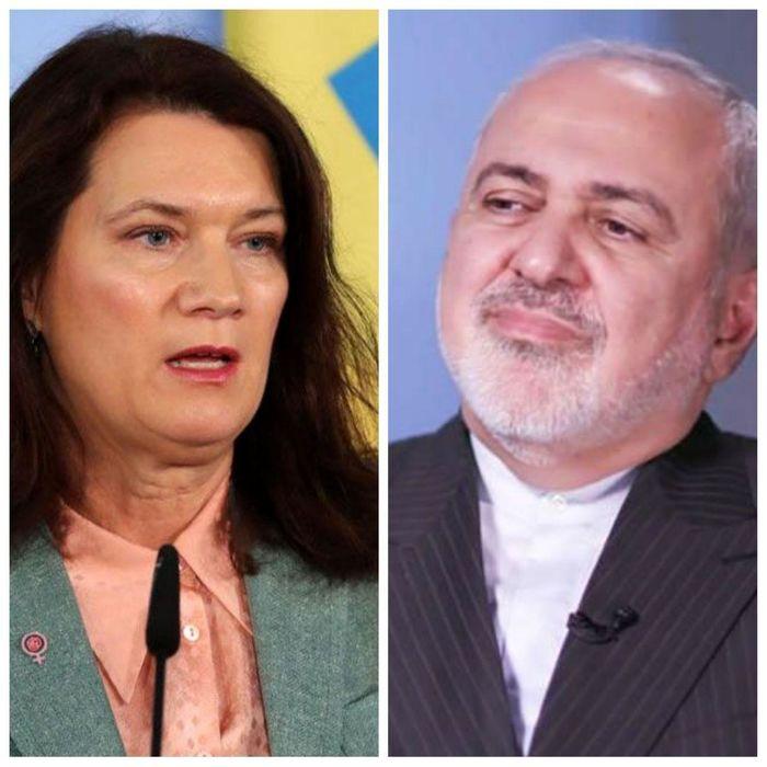 گفتگوی تلفنی وزرای امور خارجه ایران و سوئد