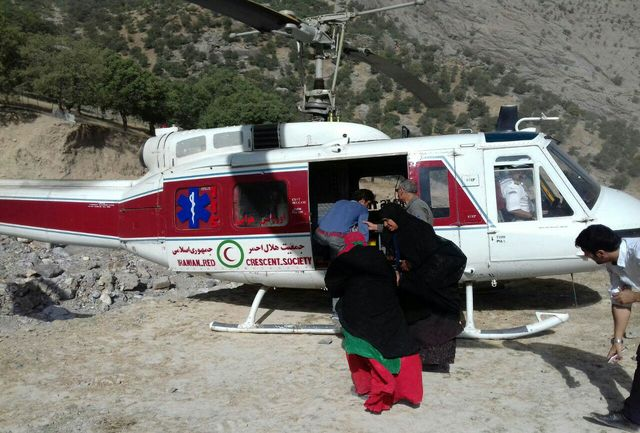 پرواز اورژانس هوایی لرستان برای نجات جان مادر باردار الیگودرزی