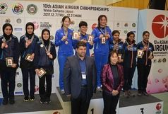 بانوی تیرانداز قم نائب قهرمان آسیا شد