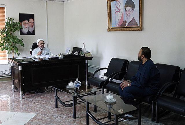 بازجویی دادستان قزوین از سارق مسلح بانک تجارت