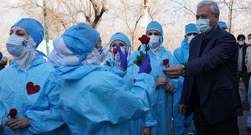 """تقدیر از کادر درمان """" بیمارستان شهید لواسانی """""""