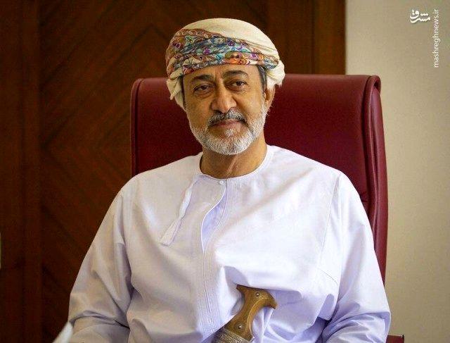 دیدار و گفتگوی وزیر خارجه قطر با پادشاه عمان
