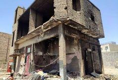سقوط آزاد یک زن از ارتفاع برای فرار از آتش سوزی خیابان فردوسی+عکس