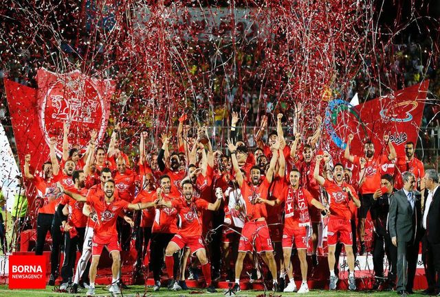 هتتریک قهرمانی پرسپولیس در قلب خلیج فارس/ جام در جم سرخ شد