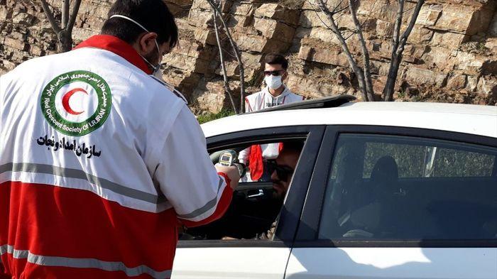 غربالگری کرونایی بیش از ۱۰۶ هزار نفر در ۶۲ پایگاه هلال احمر خوزستان