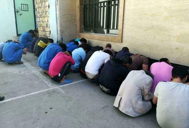 جمع آوری ۳۷ معتاد متجاهر در اندیمشک