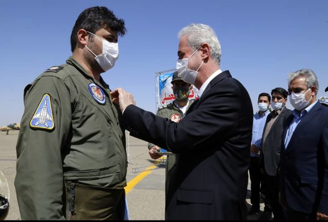 نخستین پرواز مستقل ۳ خلبان پایگاه شکاری تبریز