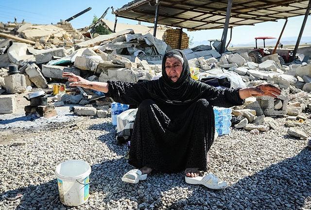 """16 """"روستای"""" زلزلهزده کرمانشاه جابهجایی میشود"""