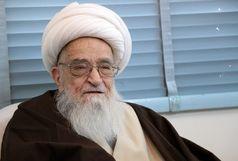درخواست آیت الله العظمی صافی از عموم آزادی خواهان و مسلمانان