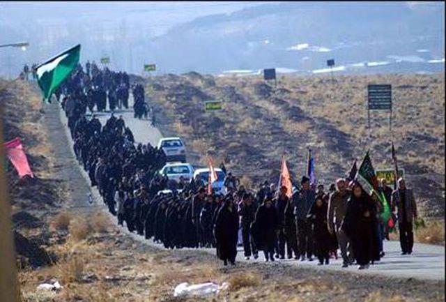 ورود بیش از 236 هزار زائر پیاده به مشهدالرضا
