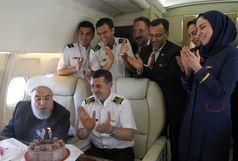 حضور سلطانیفر در جشن تولد خودمانی رییس جمهور+عکس
