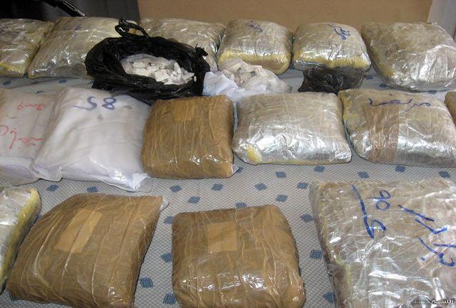 بیش از 18 تن مواد مخدر در ایرانشهر کشف شد