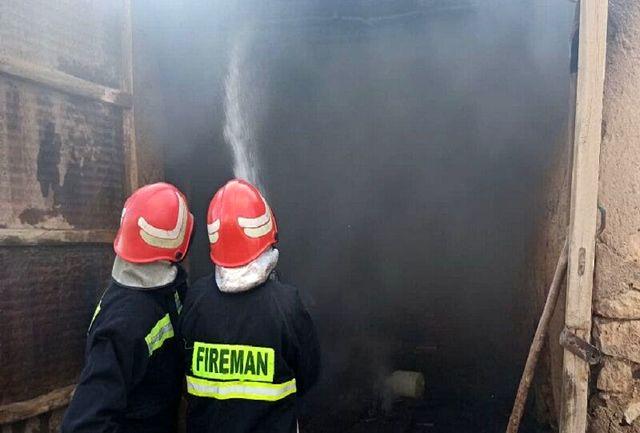 آتشسوزی یک شعبه بانک صادرات در زاهدان