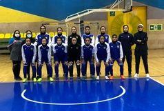 صعود تیم فوتسال بانوان پالایش نفت به نیمه نهایی لیگ برتر