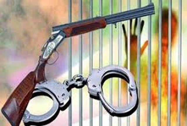 کشف 3 قبضه اسلحه قاچاق از متخلفین / دستگیری 4 فرد متخلف در شهرستان طارم
