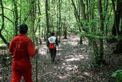 نجات ۴ گمشده در جنگل های رضوانشهر