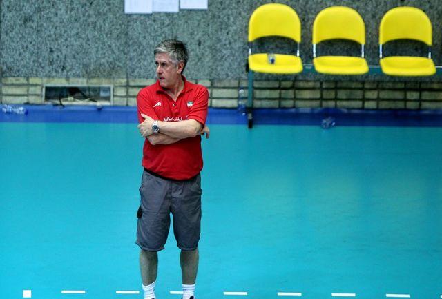 لوزانو: از عملکرد بازیکنان ایران راضی هستم