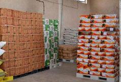 کشف بیش از ۳ و نیم تن مواد غذایی احتکار شده در زاهدان