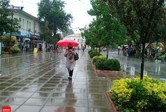 باران در راه برخی استانها