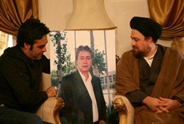 سید حسن خمینی به منزل ناصر حجازی رفت + تصاویر