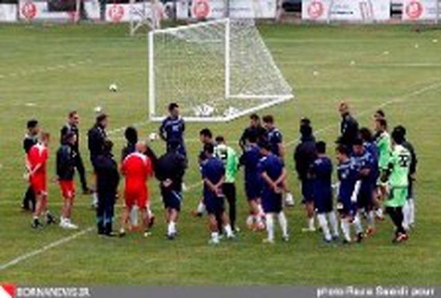 تیم ملی برای بازی لبنان استارت می زند
