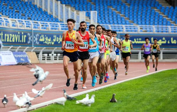 نخستین روز رقابت های بین المللی دو و میدانی جام امام رضا(ع)