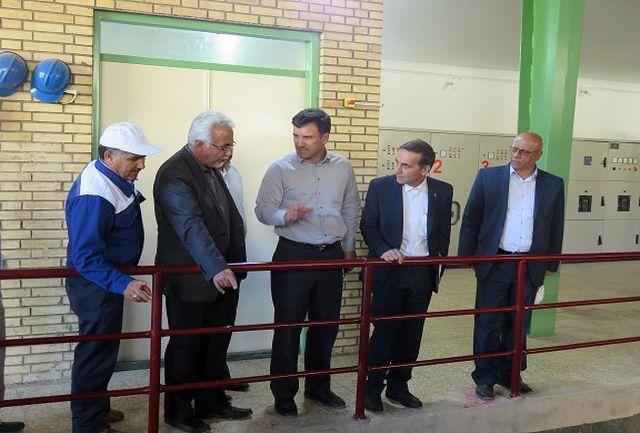 بازدید مدیر عامل پتروشیمی از تأسیسات سد ایلام