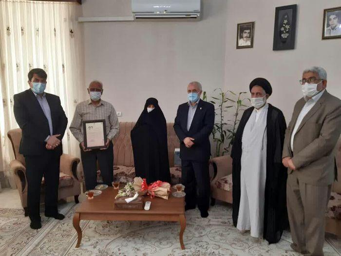 دیدار معاون رییس جمهوری با خانواده شهید یزدی