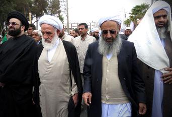 راهپیمایی ۲۲ بهمن در زاهدان