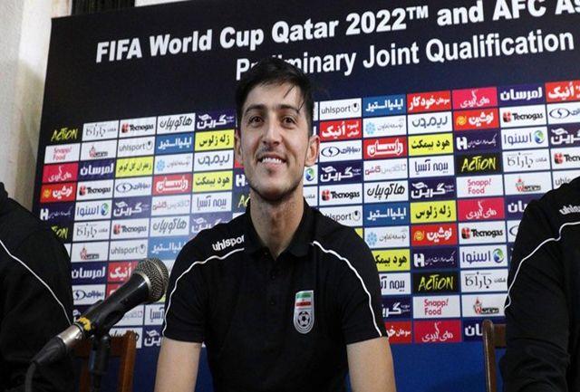 آزمون: با تلاش در جام جهانی حضور خواهیم داشت