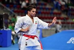 شهرجردی به مدال برنز لیگ جهانی کاراته وان امارات رسید