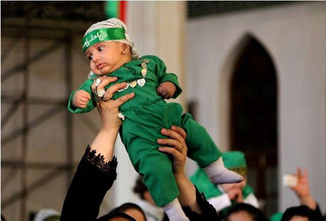 همایش بزرگ شیرخوارگان حسینی در گیلان برگزار شد