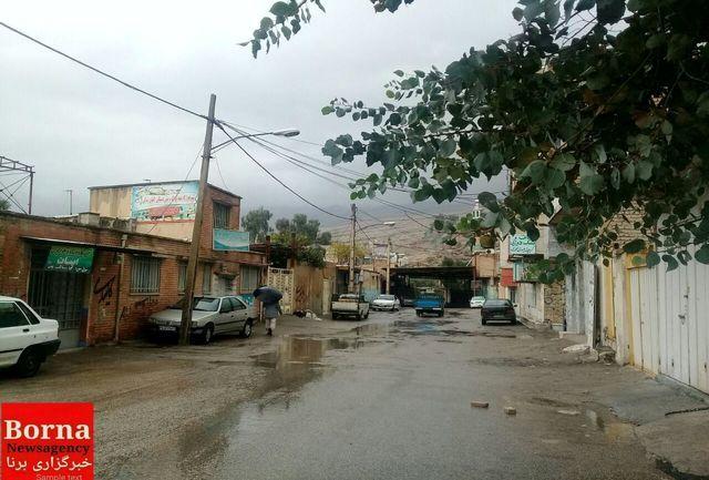 جزئیات بارندگی در لرستان / ثبت بارش 53/8 میلیمتری باران در استان