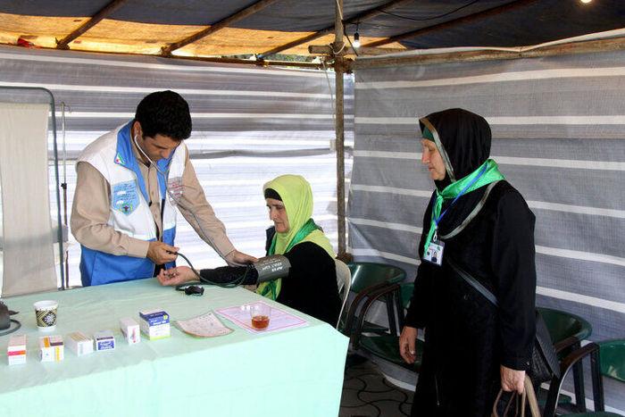 ارائه خدمات پزشکی ۲۴ ساعته به زائران ایرانی اربعین در عراق