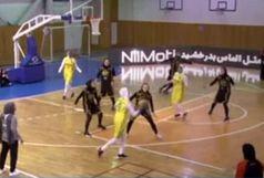 بانوان بسکتبالیست پالایش نفت از فینال جا ماندند/مهرام و بهمن فینالیست شدند