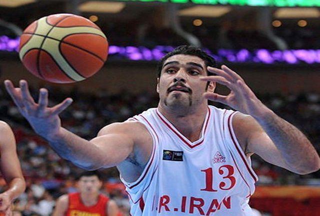 اصغر کاردوست بسکتبالیست گیلانی برنده جایزه ارزشمندترین بازیکن بسکتبال ایران شد