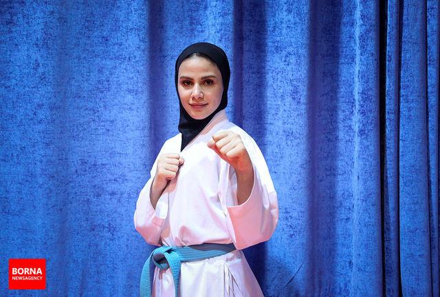شرکت در المپیک بالاترین هدف یک ورزشکار است/ امیدوارم نماینده شایستهای برای ایران باشم