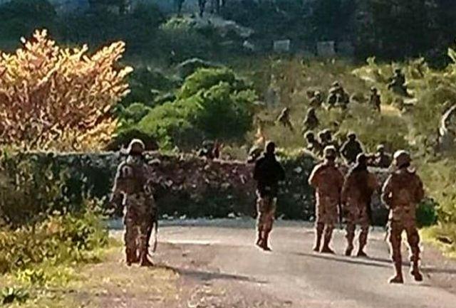 درگیری ارتش لبنان با تروریستها در شمال لبنان