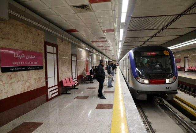 علت توقف قطار در خط یک مترو مشخص شد