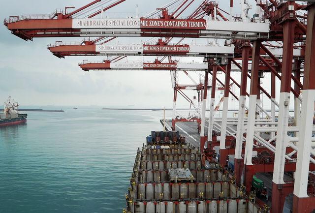 رشد ۴۹ درصدی صادرات در بندر شهید رجایی/ عملیات کانتینری ۱۱ درصد افزایش یافت