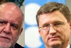 مذاکرات ایران و روسیه درباره وضعیت بازار نفت