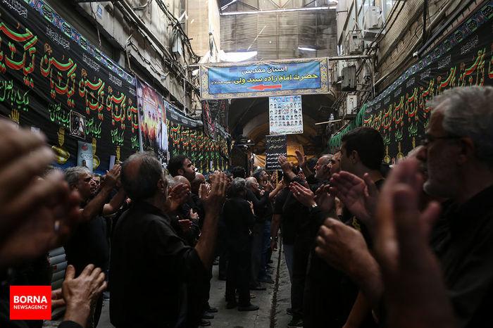 تصویر ناب و دیده نشده از ارادت یک پرسپولیسی به سالار شهیدان+ عکس