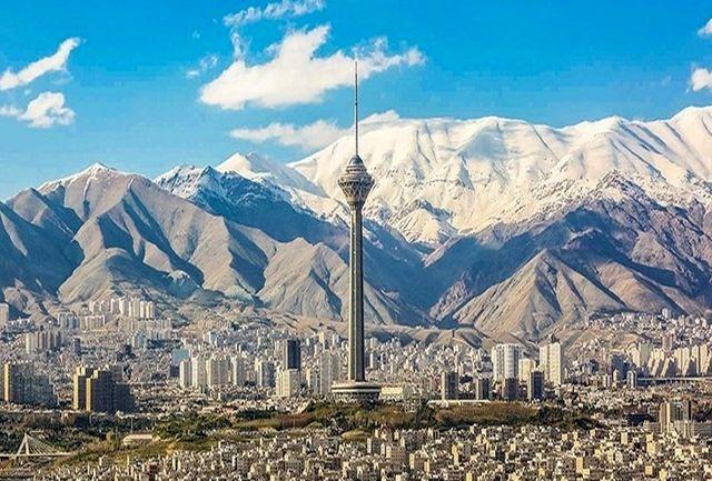 60 روز هوای سالم در تهران