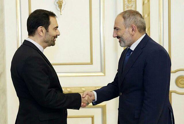 سفیر کشورمان با نخستوزیر ارمنستان دیدار کرد