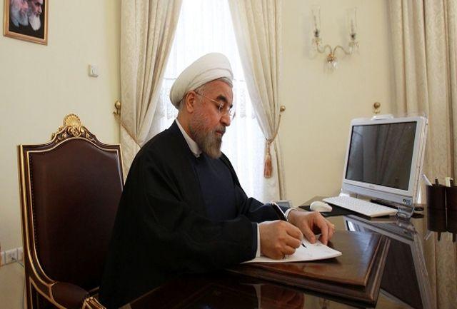 رئیس جمهوری درگذشت مرحوم نژاد حسینیان را تسلیت گفت